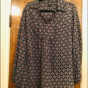 Mossimo Peasant Top